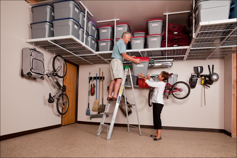 Ceiling Mounted Garage Storage