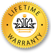 Lifetime Warranty on Our Products