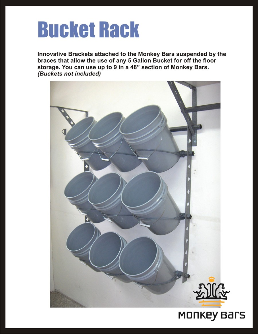 Perfect ... Bucket Rack, Saddle Rack, And Single Bar Brackets . We Can Provide  Workbenches Too!