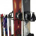 The Ski & Snowboard Rack is perfect for the family that has a mix of skiers and snowboarders.  $99.99
