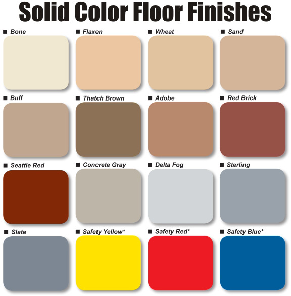 Garage epoxy colors 2017 2018 best cars reviews for Cement paint colors for floors